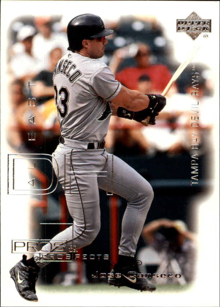 2000 Upper Deck Pros and Prospects #11 Jose Canseco
