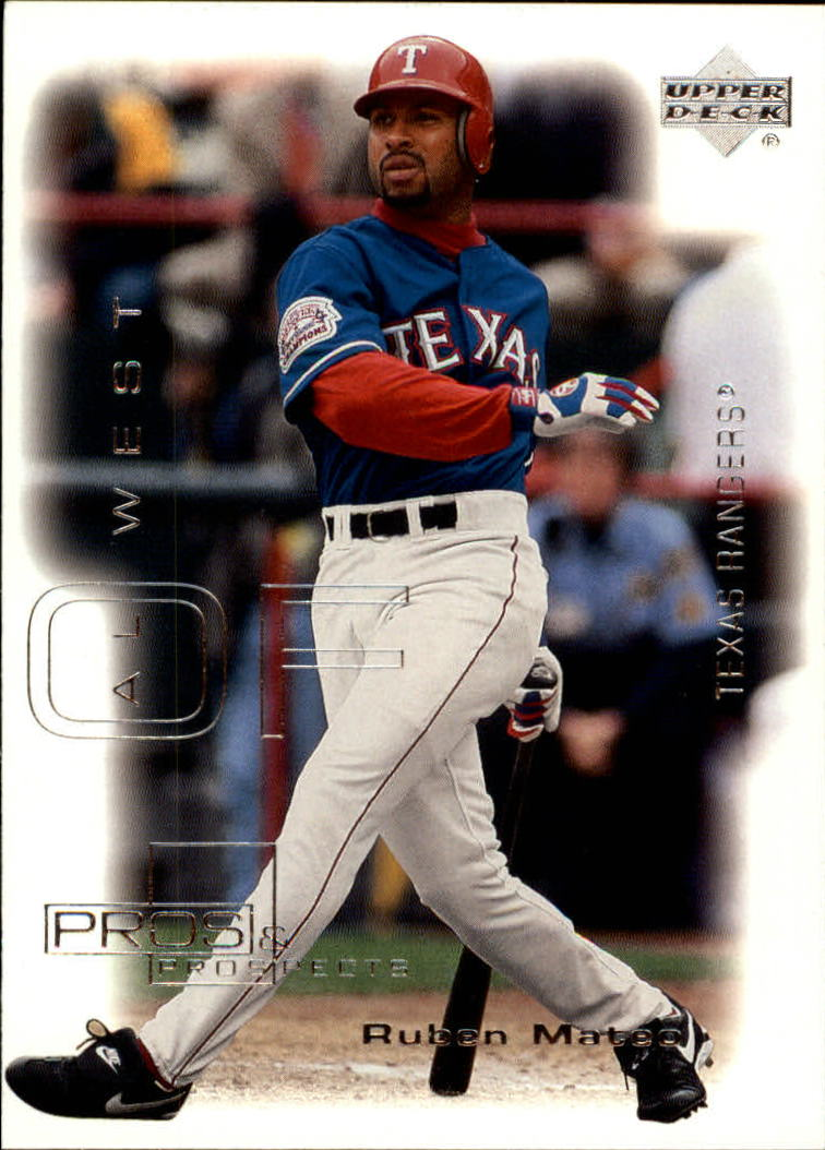 2000 Upper Deck Pros and Prospects #25 Ruben Mateo