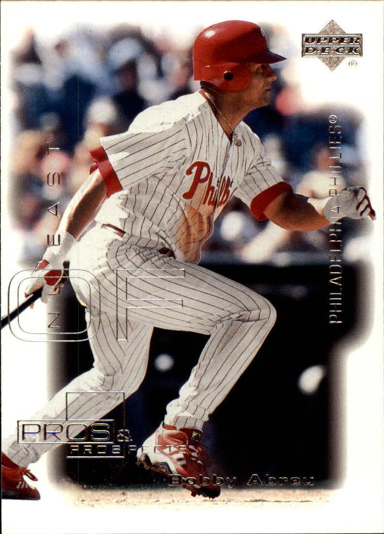2000 Upper Deck Pros and Prospects #81 Bobby Abreu