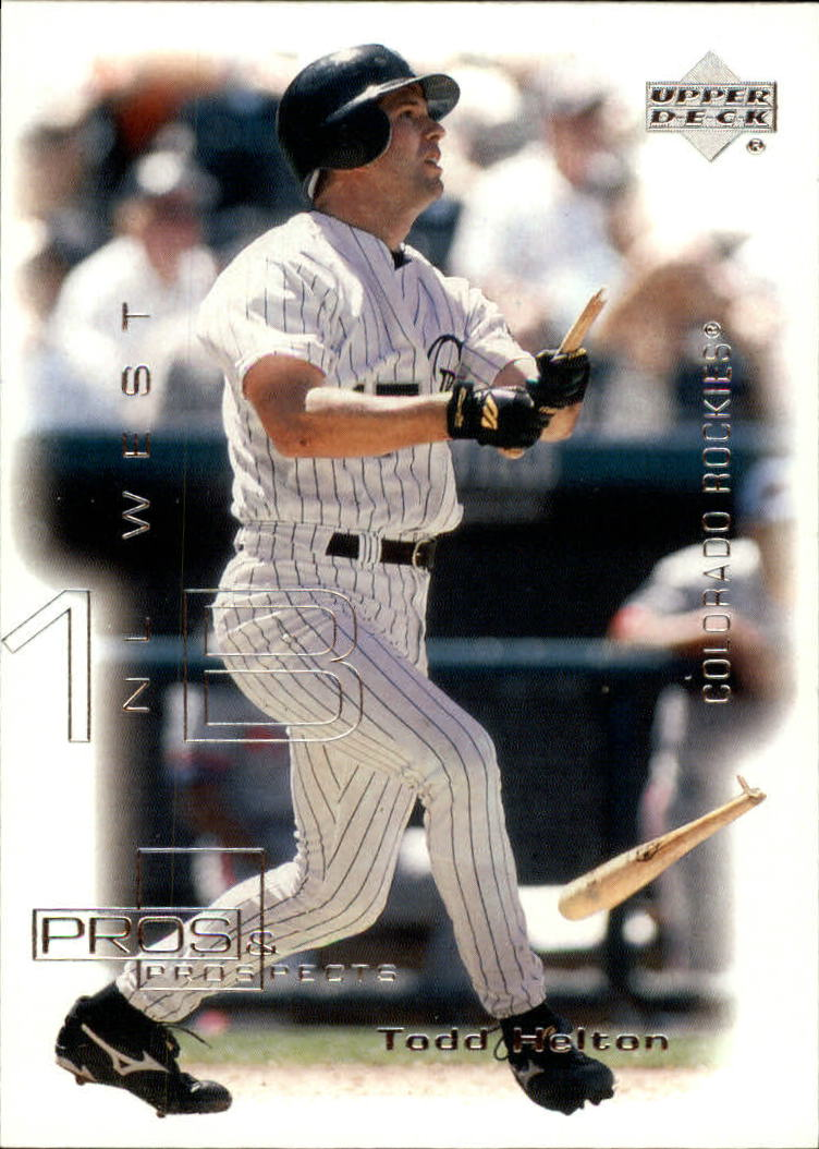 2000 Upper Deck Pros and Prospects #90 Todd Helton