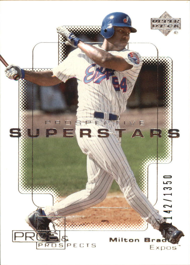 2000 Upper Deck Pros and Prospects #92 Milton Bradley PS