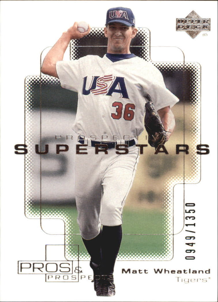2000 Upper Deck Pros and Prospects #99 Matt Wheatland PS RC