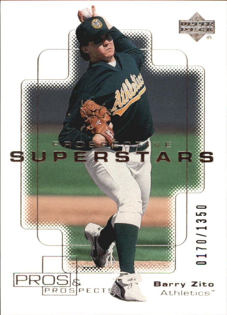2000 Upper Deck Pros and Prospects #101 Barry Zito PS RC