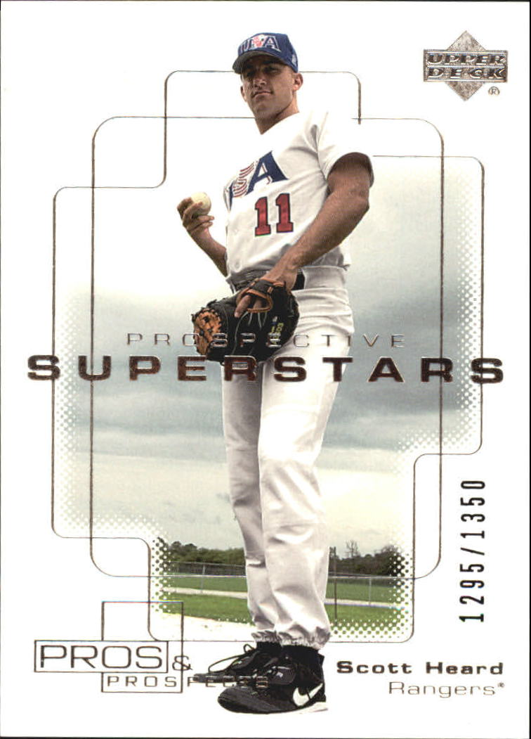 2000 Upper Deck Pros and Prospects #103 Scott Heard PS RC