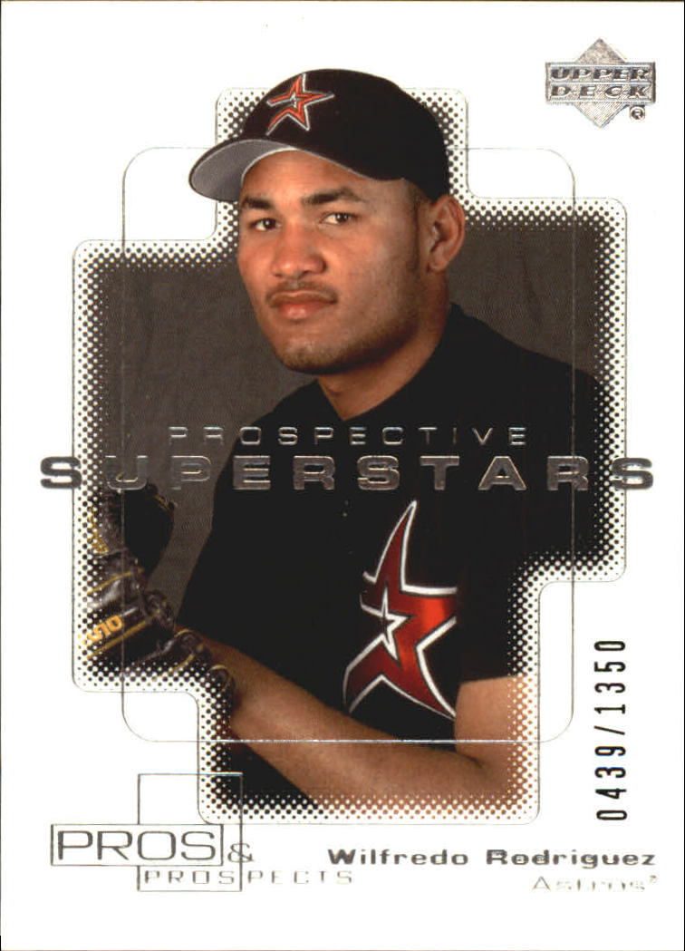 2000 Upper Deck Pros and Prospects #107 Wilfredo Rodriguez PS RC