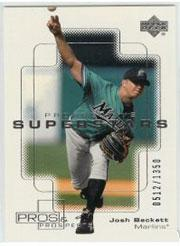 2000 Upper Deck Pros and Prospects #114 Josh Beckett PS