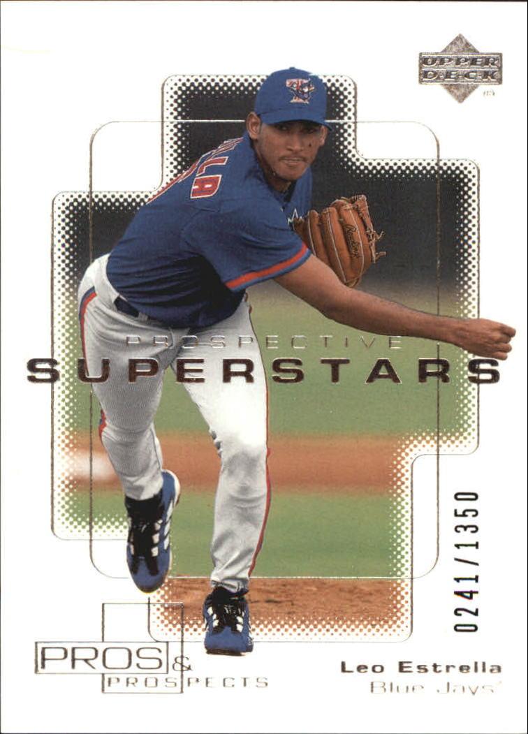 2000 Upper Deck Pros and Prospects #120 Leo Estrella PS RC