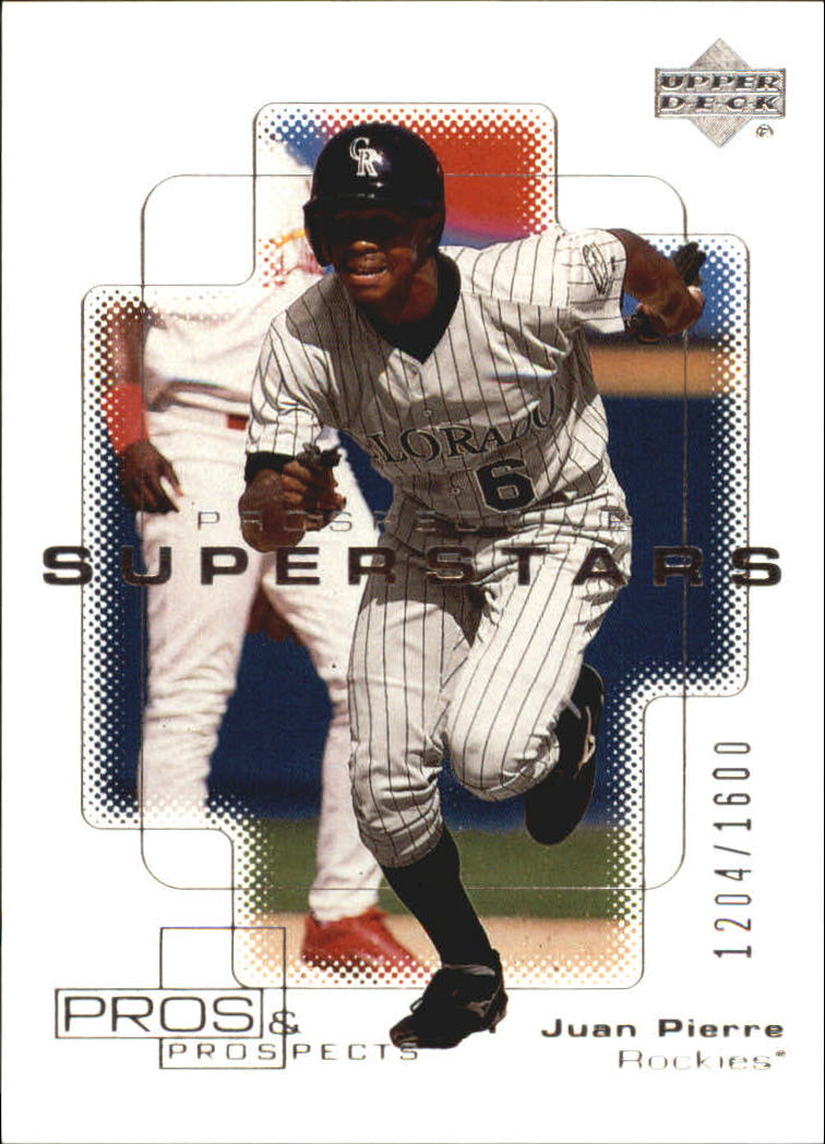 2000 Upper Deck Pros and Prospects #134 Juan Pierre PS RC