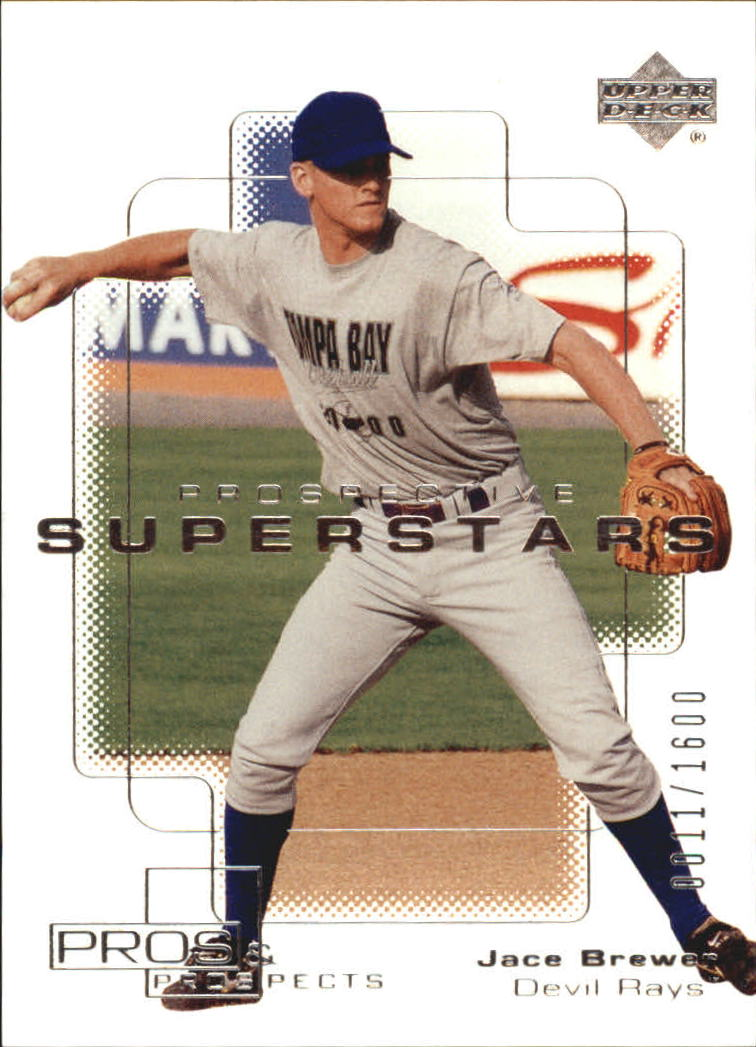 2000 Upper Deck Pros and Prospects #135 Jace Brewer PS RC