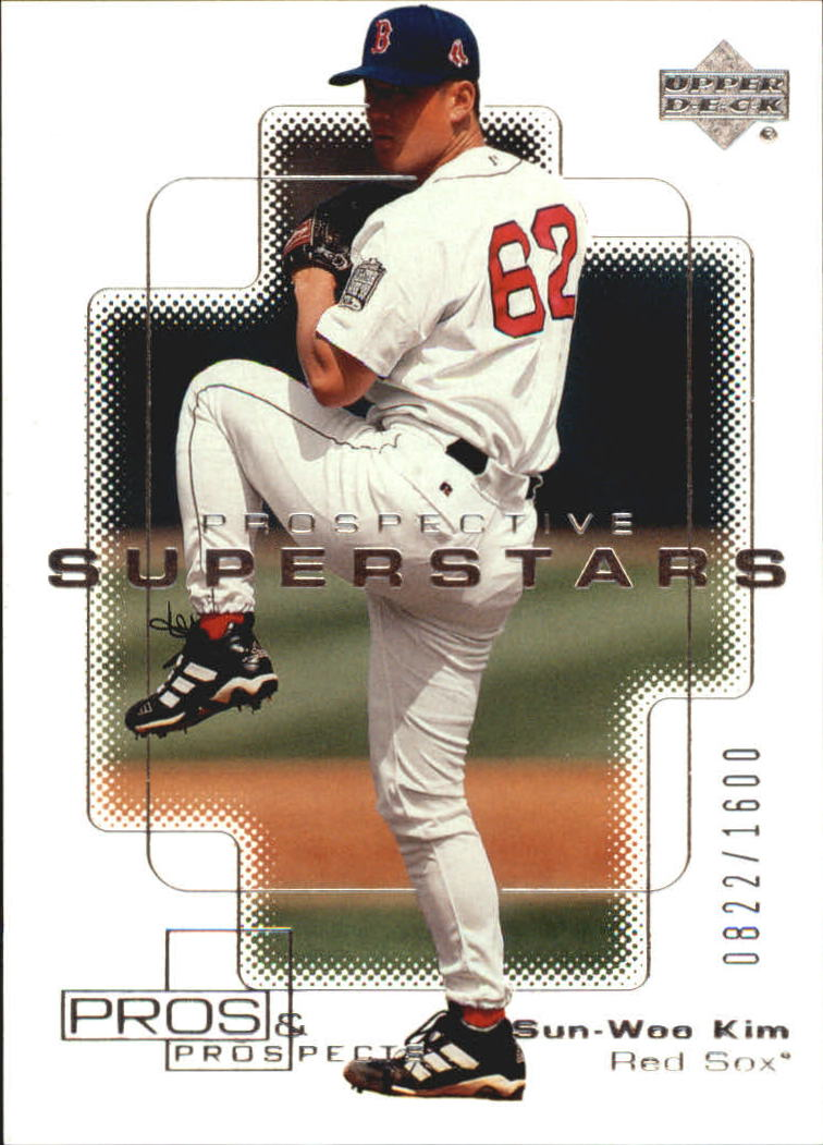 2000 Upper Deck Pros and Prospects #136 Sun Woo Kim PS RC
