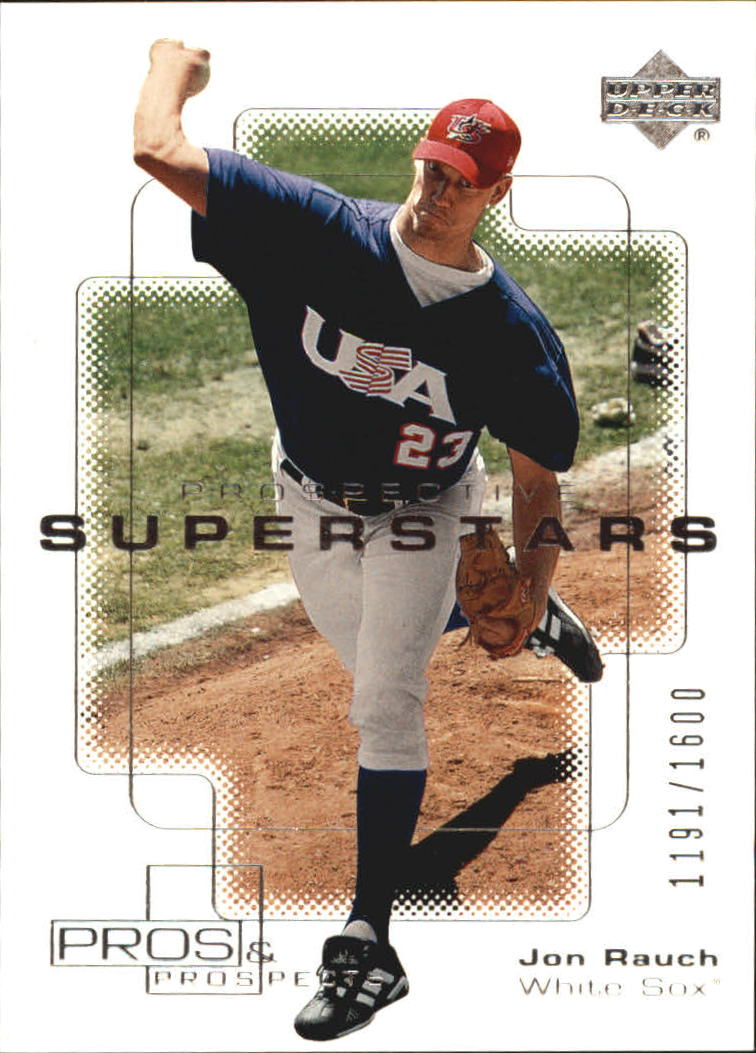 2000 Upper Deck Pros and Prospects #137 Jon Rauch PS RC