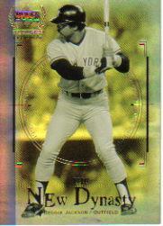 2000 Upper Deck Yankees Legends New Dynasty #ND1 Reggie Jackson