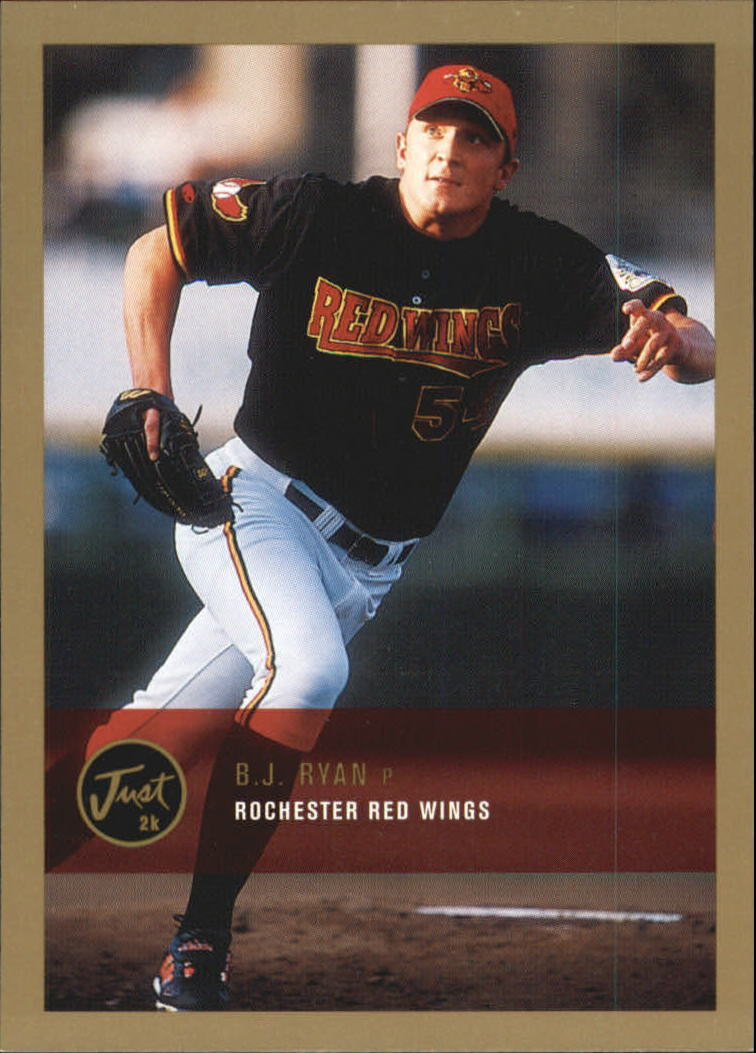 2000 Just Gold #274 B.J. Ryan
