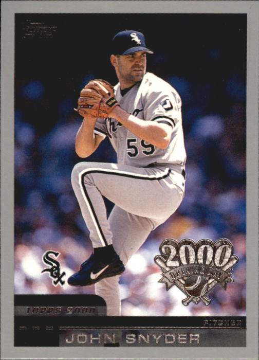 2000 Topps Opening Day #71 John Snyder RC