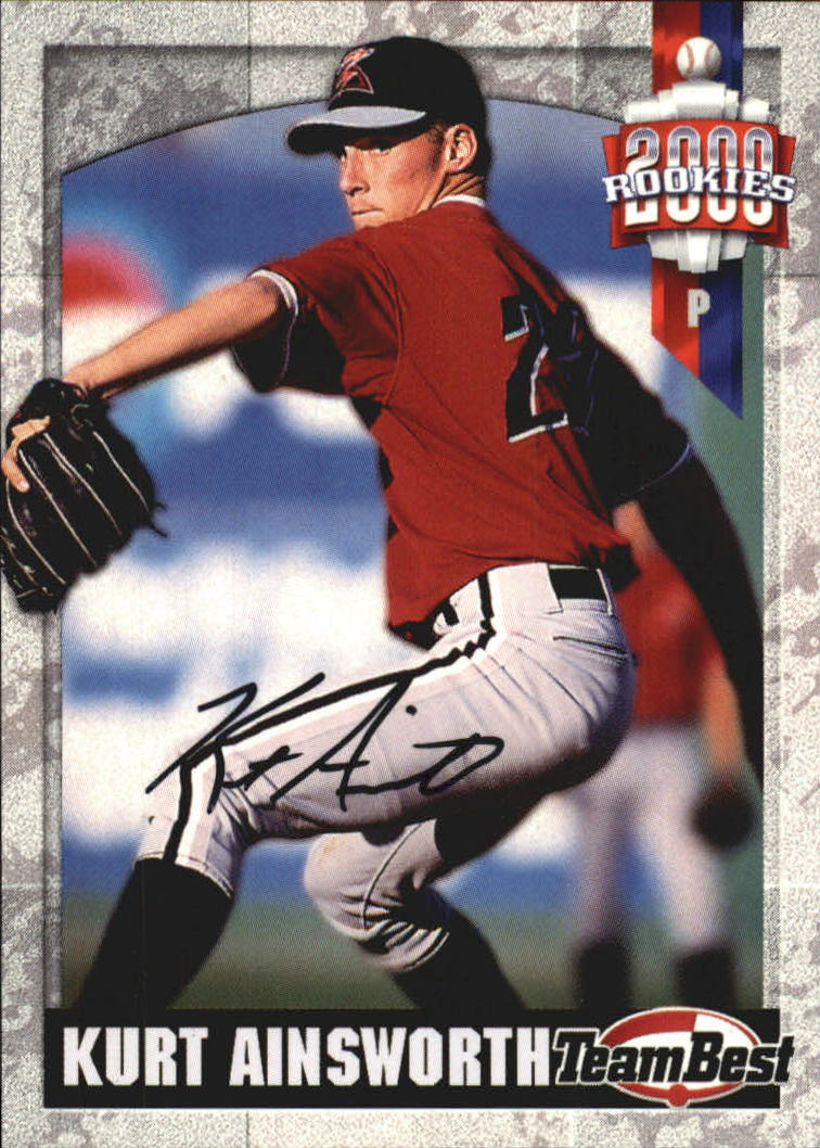 2000 Team Best Rookies Autographs #1 Kurt Ainsworth S1