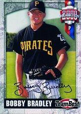 2000 Team Best Rookies Autographs #8 Bobby Bradley S2