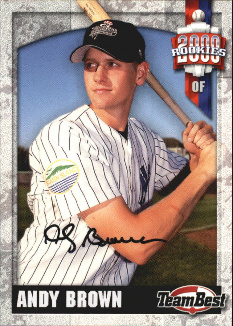 2000 Team Best Rookies Autographs #11 Andy Brown S1