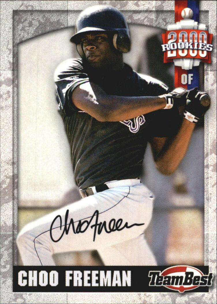 2000 Team Best Rookies Autographs #20 Choo Freeman S1