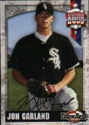 2000 Team Best Rookies Autographs #22 Jon Garland S2
