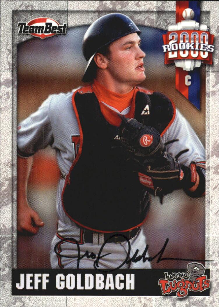 2000 Team Best Rookies Autographs #25 Jeff Goldbach S1