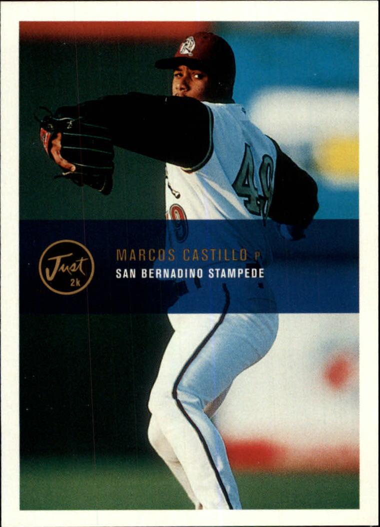 2000 Just #17 Marcos Castillo