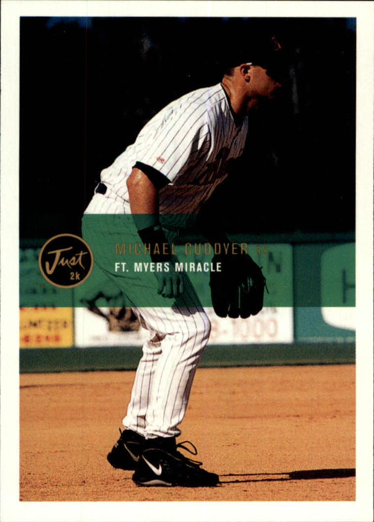 2000 Just #27 Michael Cuddyer