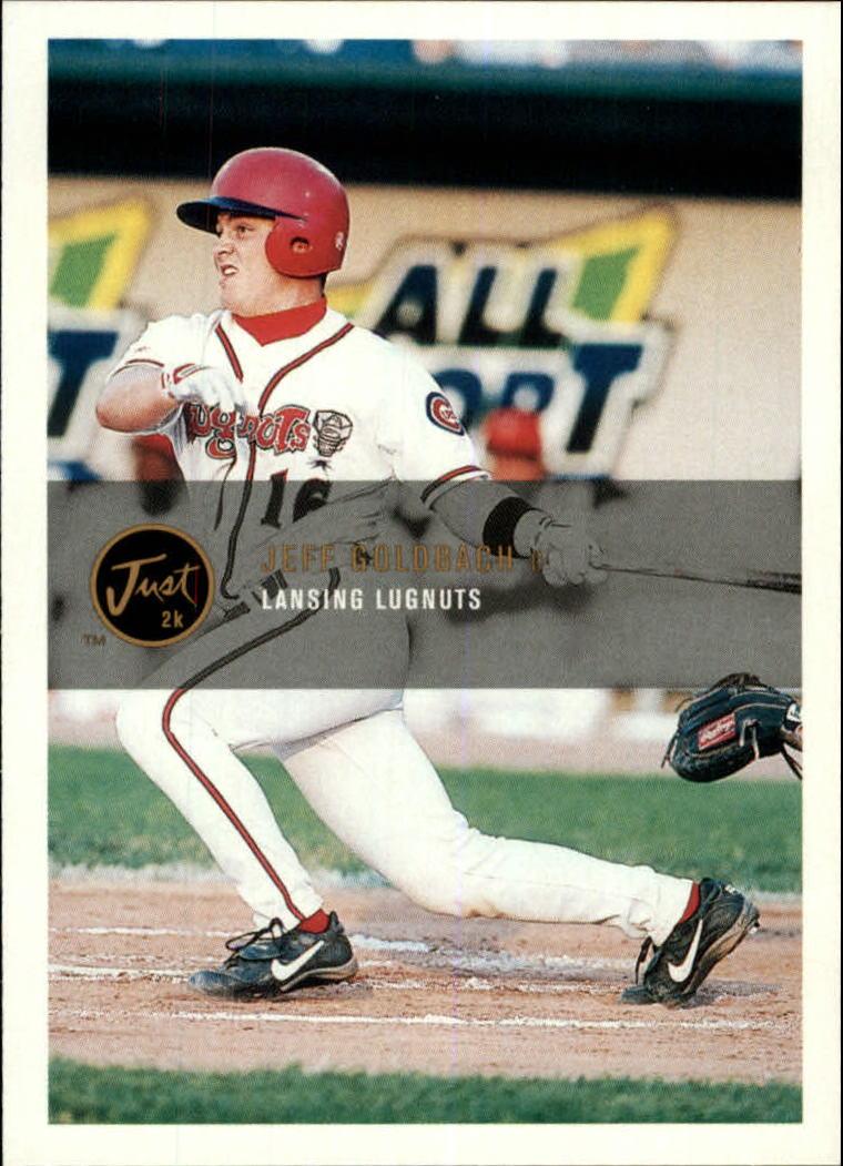 2000 Just #41 Jeff Goldbach