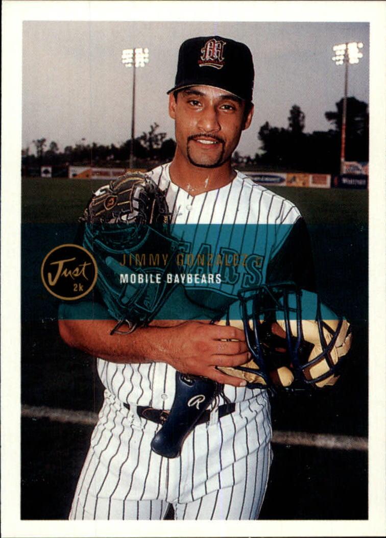 2000 Just #42 Jimmy H.Gonzalez
