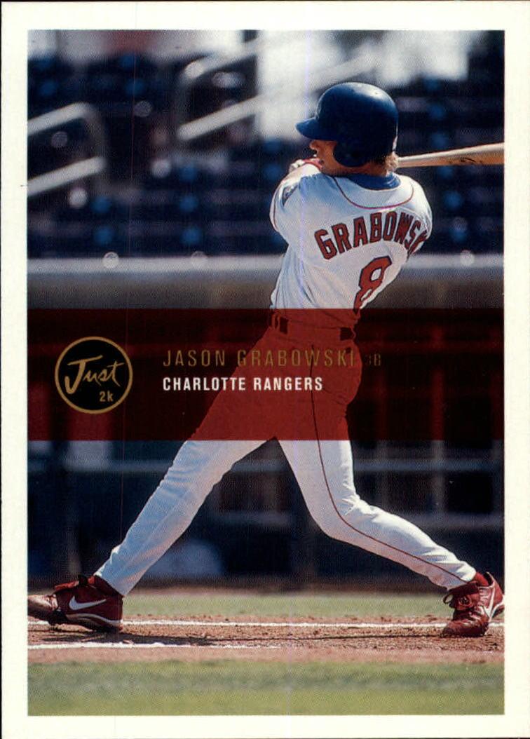 2000 Just #43 Jason Grabowski
