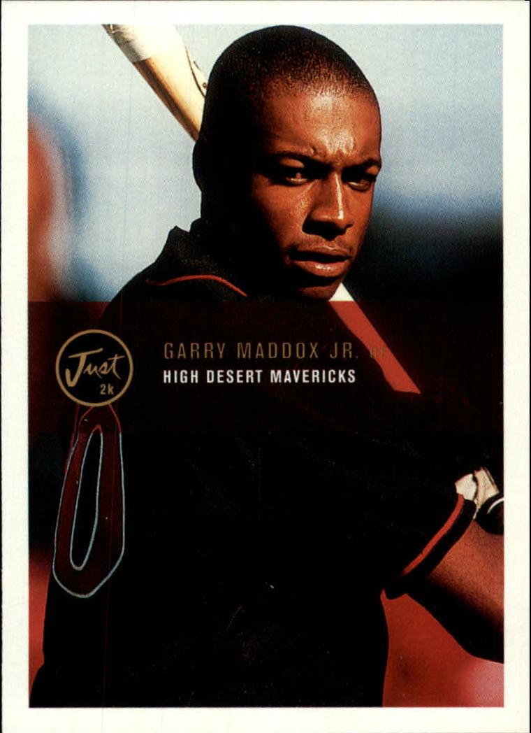 2000 Just #55 Garry Maddox Jr.