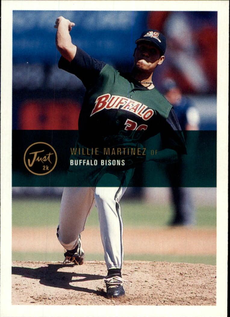 2000 Just #56 Willie Martinez