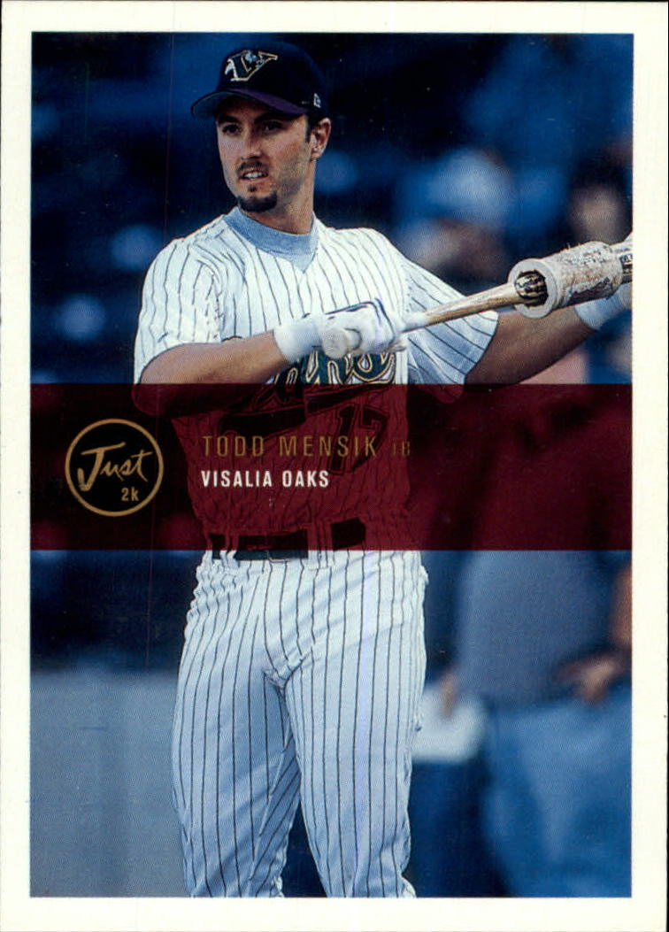 2000 Just #63 Todd Mensik