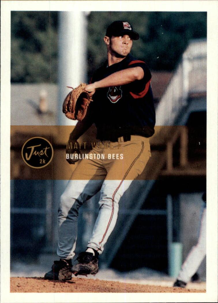 2000 Just #95 Matt Wade