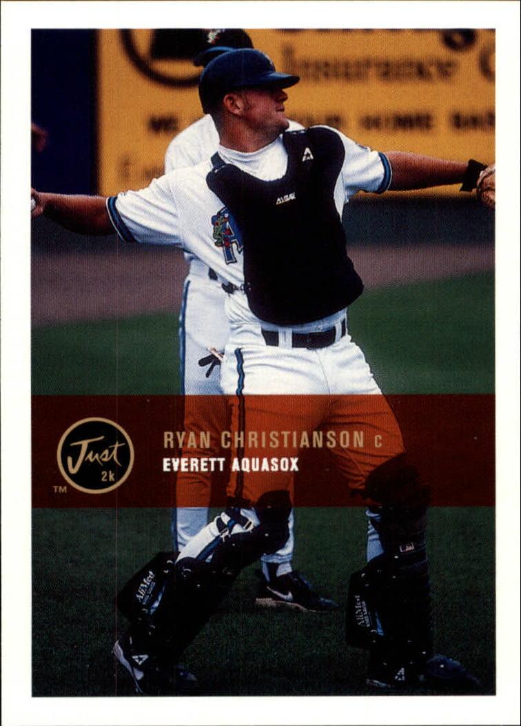 2000 Just #120 Ryan Christianson