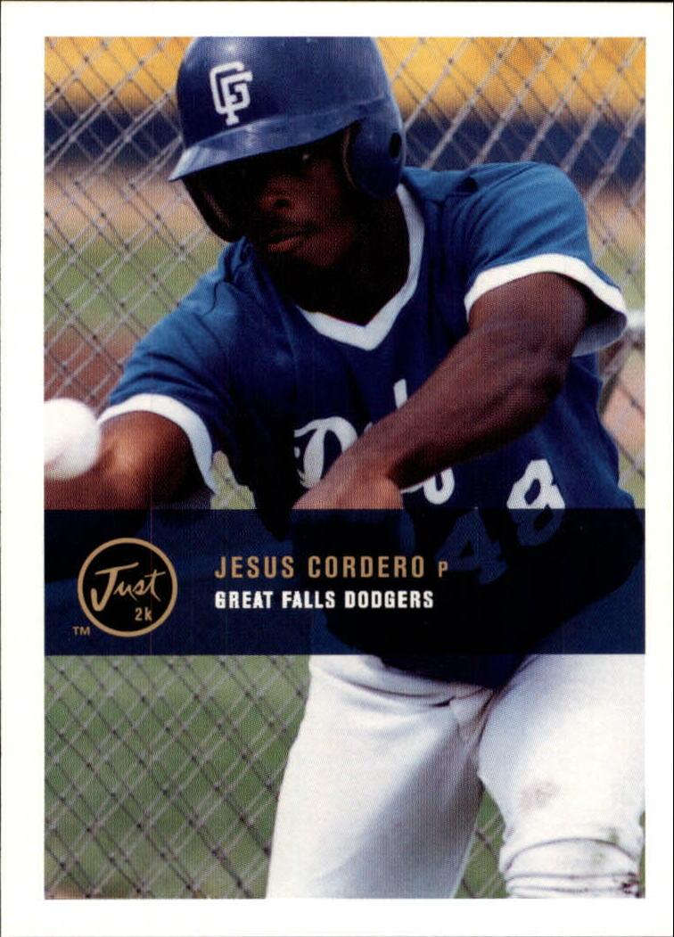 2000 Just #123 Jesus Cordero