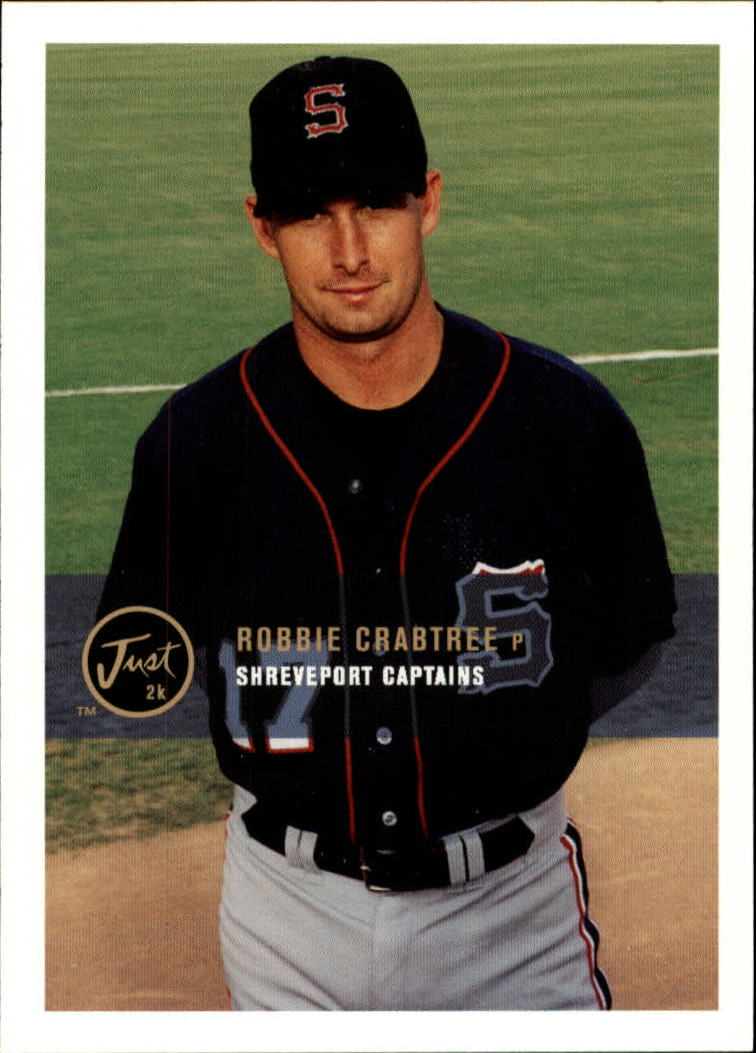 2000 Just #125 Robbie Crabtree