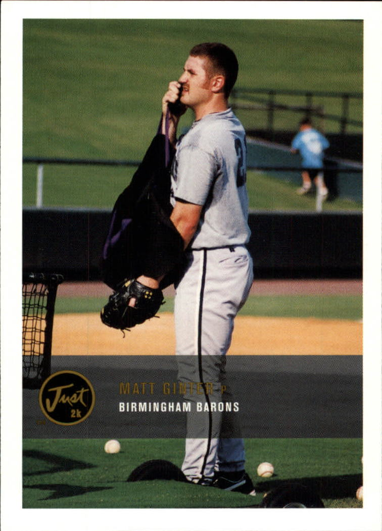 2000 Just #235 Matt Ginter