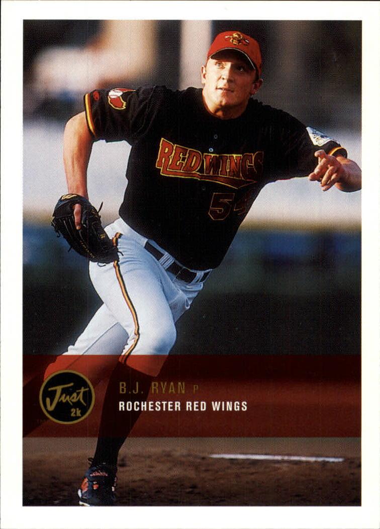2000 Just #274 B.J. Ryan