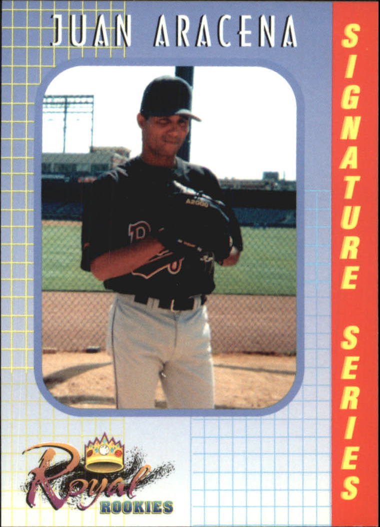 2000 Royal Rookies #3 Juan Aracena