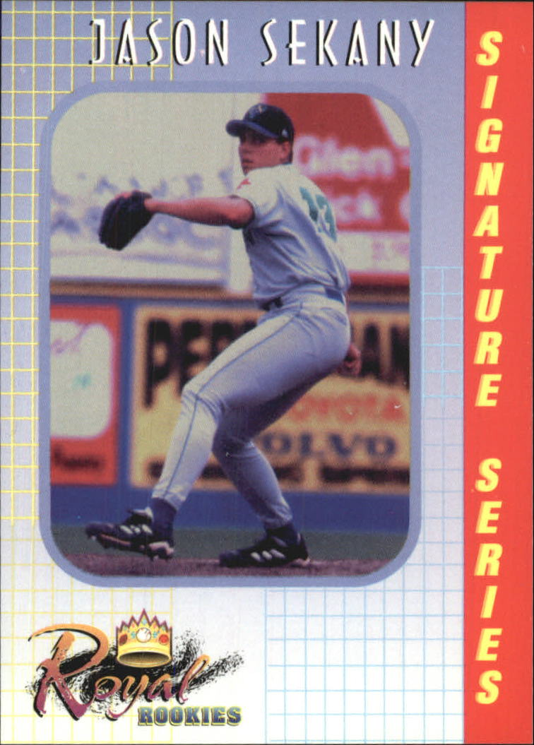 2000 Royal Rookies #6 Jason Sekany