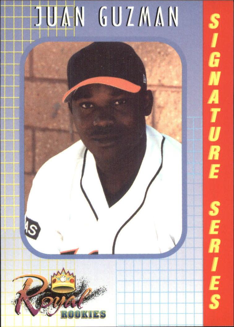 2000 Royal Rookies #7 Juan Guzman
