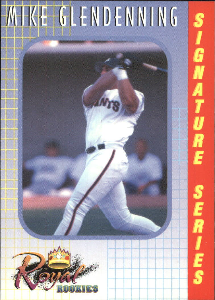 2000 Royal Rookies #16 Mike Glendenning