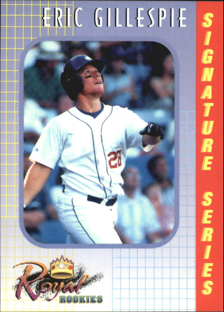 2000 Royal Rookies #18 Eric Gillespie