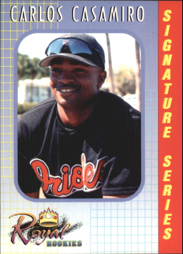2000 Royal Rookies #25 Carlos Casimiro UER