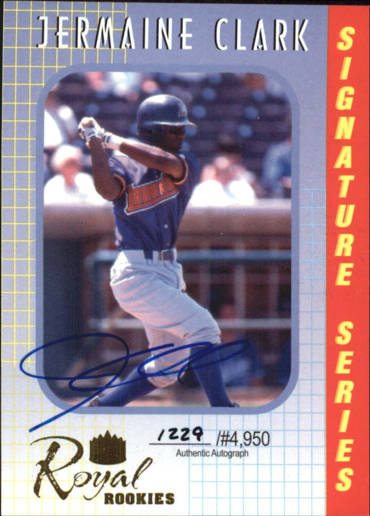 2000 Royal Rookies Autographs #12 Jermaine Clark
