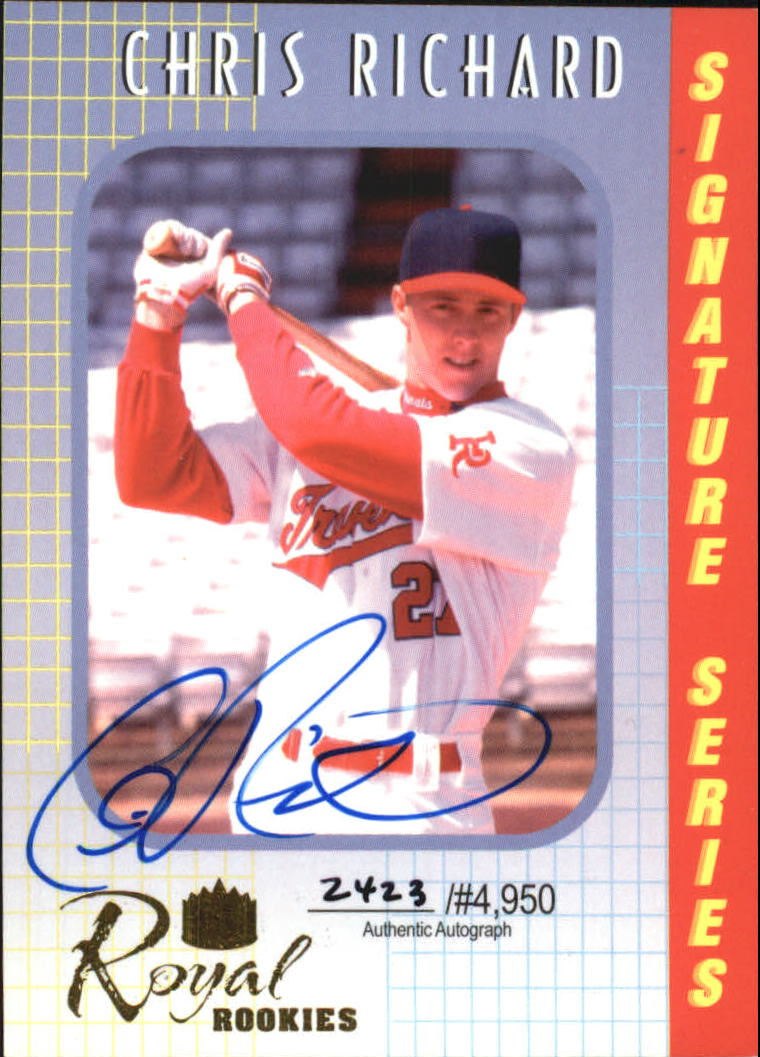 2000 Royal Rookies Autographs #13 Chris Richard