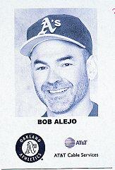 2000 A's AT and T Fanfest #1 Bob Alejo CO