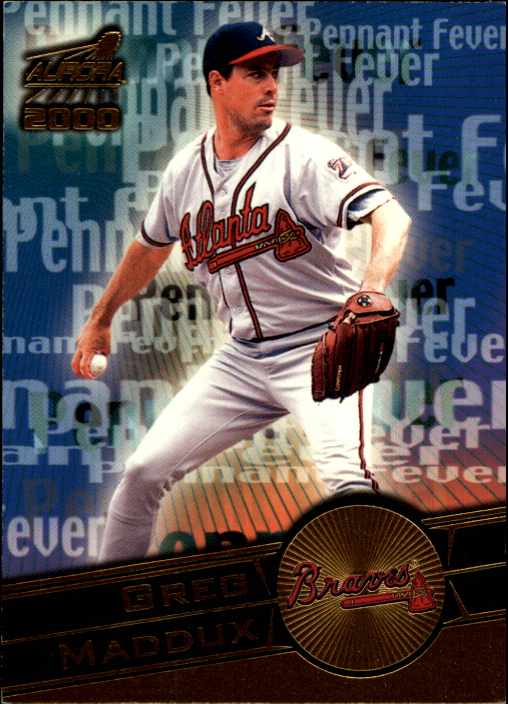 2000 Aurora Pennant Fever National Convention #3 Greg Maddux