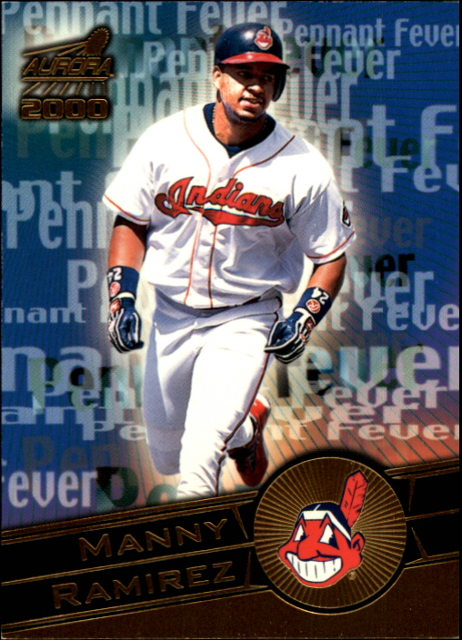 2000 Aurora Pennant Fever National Convention #8 Manny Ramirez