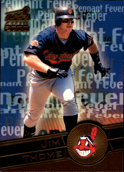 2000 Aurora Pennant Fever National Convention #9 Jim Thome